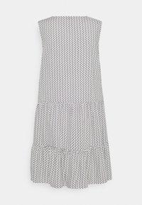 Re.draft - PRINTED VOLANT DRESS DOTS - Sukienka letnia - white - 1