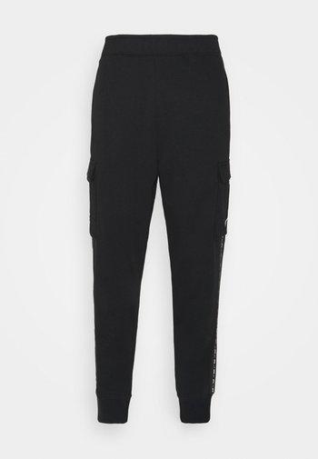 REPEAT CARGO PANT - Pantaloni sportivi - black
