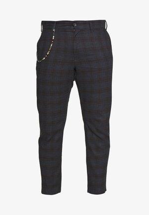 ONSMARK TAP CHECK - Trousers - black