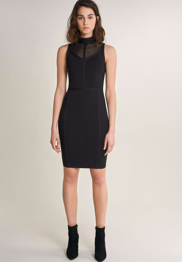 ALEXANDRIA - Etui-jurk - schwarz