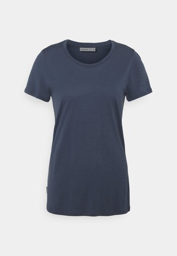 TECH LITE LOW CREWE - T-shirts - serene blue