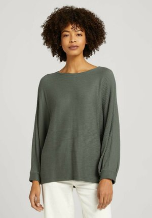 Bluse - dusty mid olive