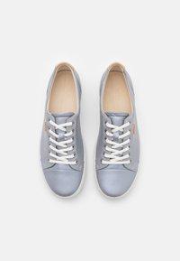 ECCO - SOFT - Baskets basses - silver grey metallic - 5