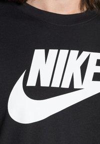 Nike Sportswear - TEE ICON FUTURA - T-shirt print - black/white - 4