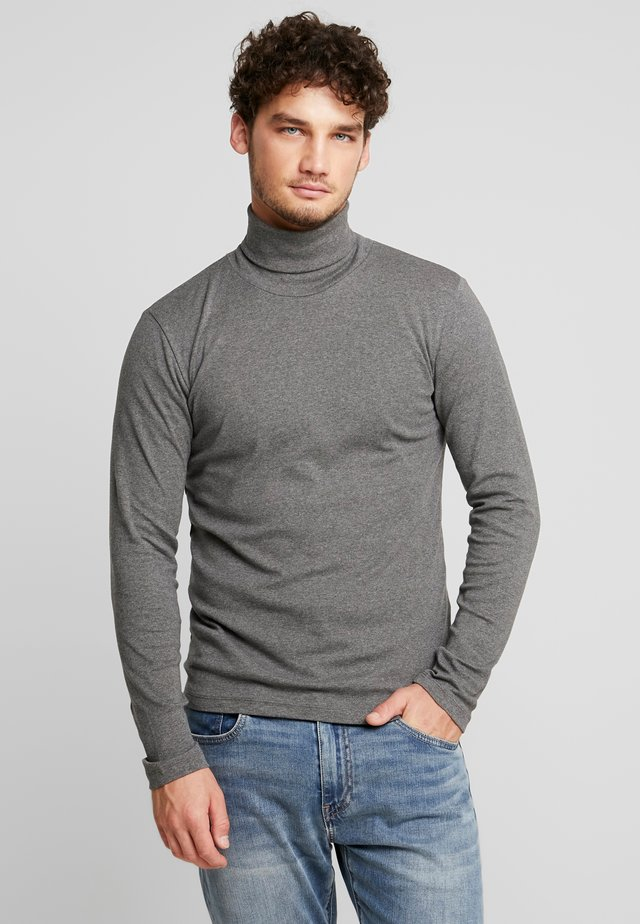 LONGSLEEVE TURTLENECK - Long sleeved top - graphite grey melange
