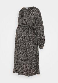 Mamalicious Curve - MLZELINA DRESS - Robe d'été - black - 5