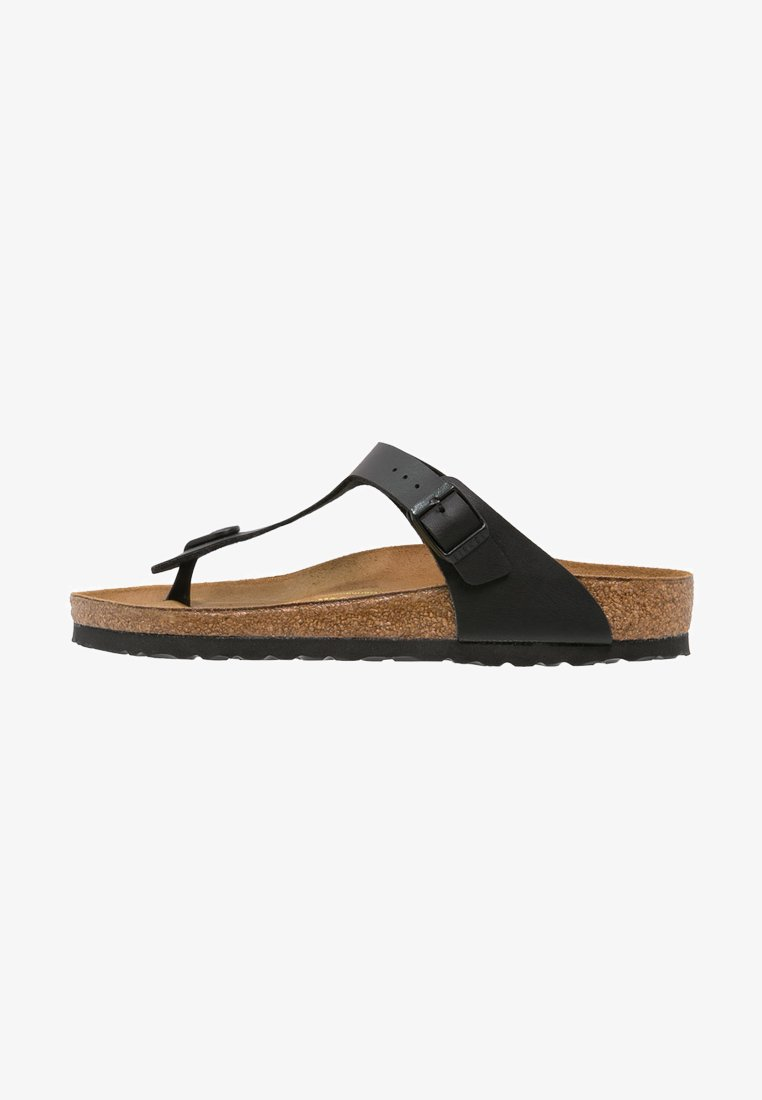 Birkenstock - GIZEH UNISEX - T-bar sandals - black