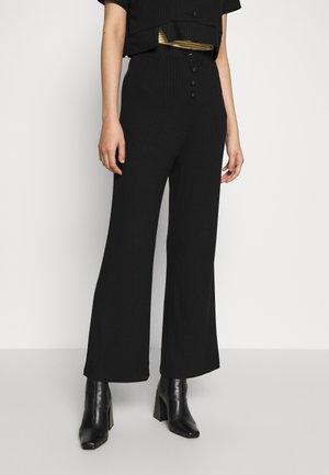 LOPEZ TROUSER - Trousers - black