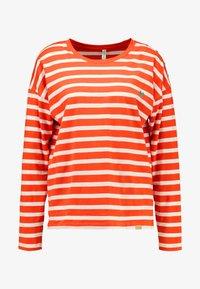 Blendshe - BSOLINE - Long sleeved top - orange/white - 3