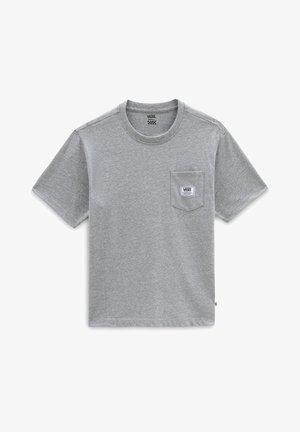 WM CLASSIC PATCH POCKET - Basic T-shirt - concrete heather