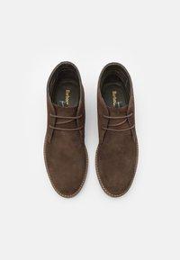 Barbour - READHEAD - Volnočasové šněrovací boty - cocoa - 3