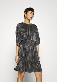 Modström - FIORE DRESS - Cocktail dress / Party dress - black - 3