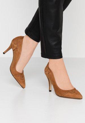 AGEODA - Zapatos altos - camel