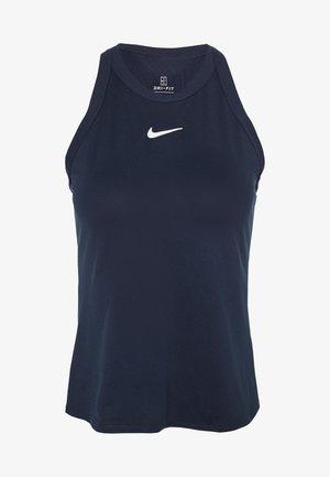 DRY TANK - Camiseta de deporte - obsidian/white