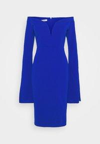 WAL G. - AMELIA V PLUNGE MIDI DRESS - Sukienka z dżerseju - electric blue - 5