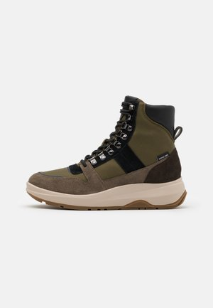 ASHER BOOT - Lace-up ankle boots - olive