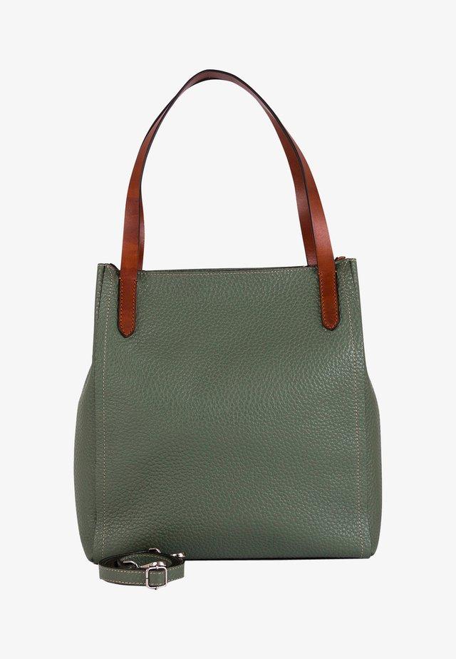 Shopping bag - verde salvia