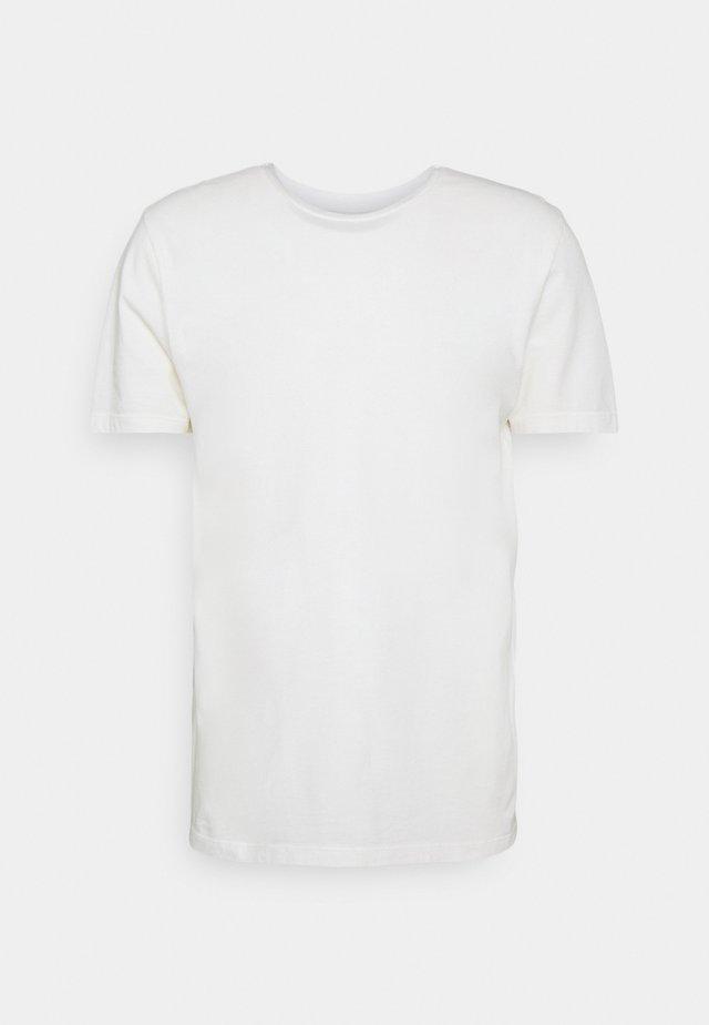 TROY RUBBER - T-shirt basic - cannoli cream
