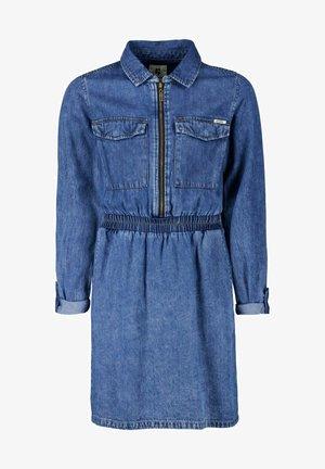 Denim dress - rine worn