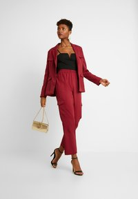 Missguided - BELTED - Blazer - red - 1