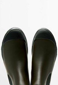 Massimo Dutti - Classic ankle boots - khaki - 1