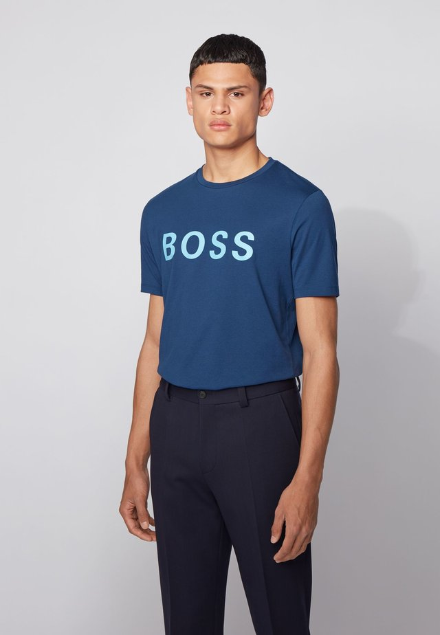 TIBURT - T-shirt med print - dark blue