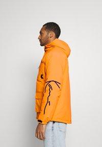 Karl Kani - SIGNATURE PADDED UTILITY JACKET - Winter coat - orange - 3