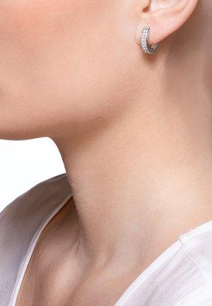 JETTE SILVER CREOLE  - Ohrringe - silver-coloured