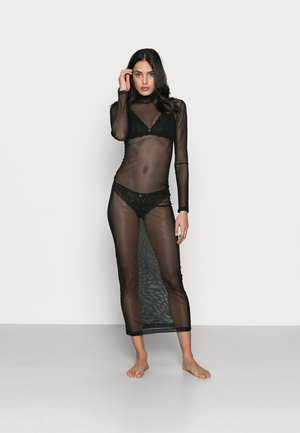 HALO DRESS - Maxi šaty - black