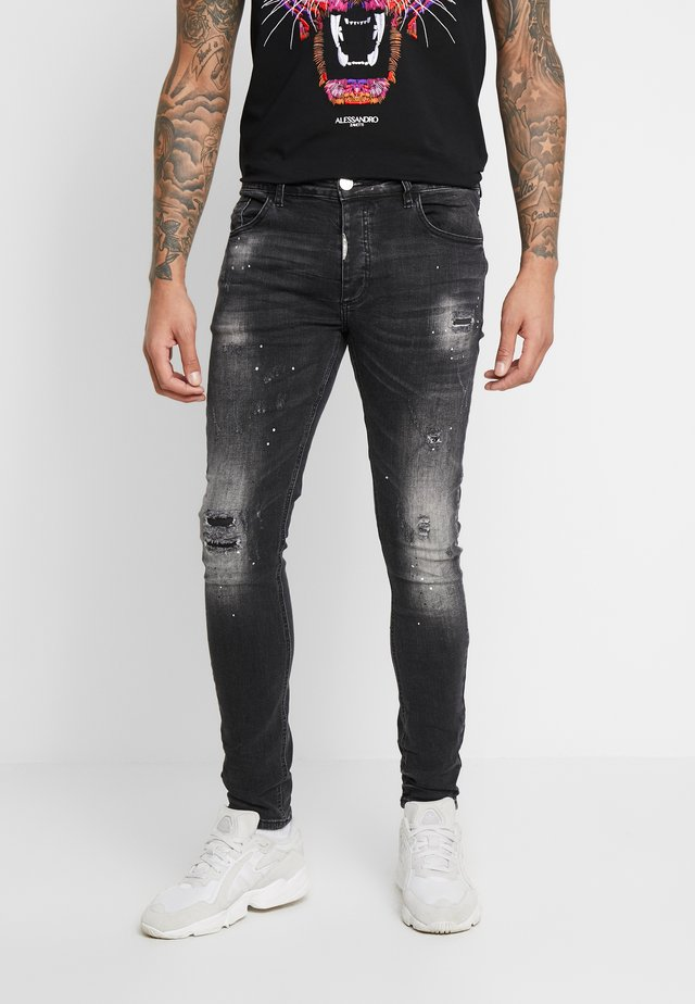 LEZZARO  - Jeans Skinny Fit - black