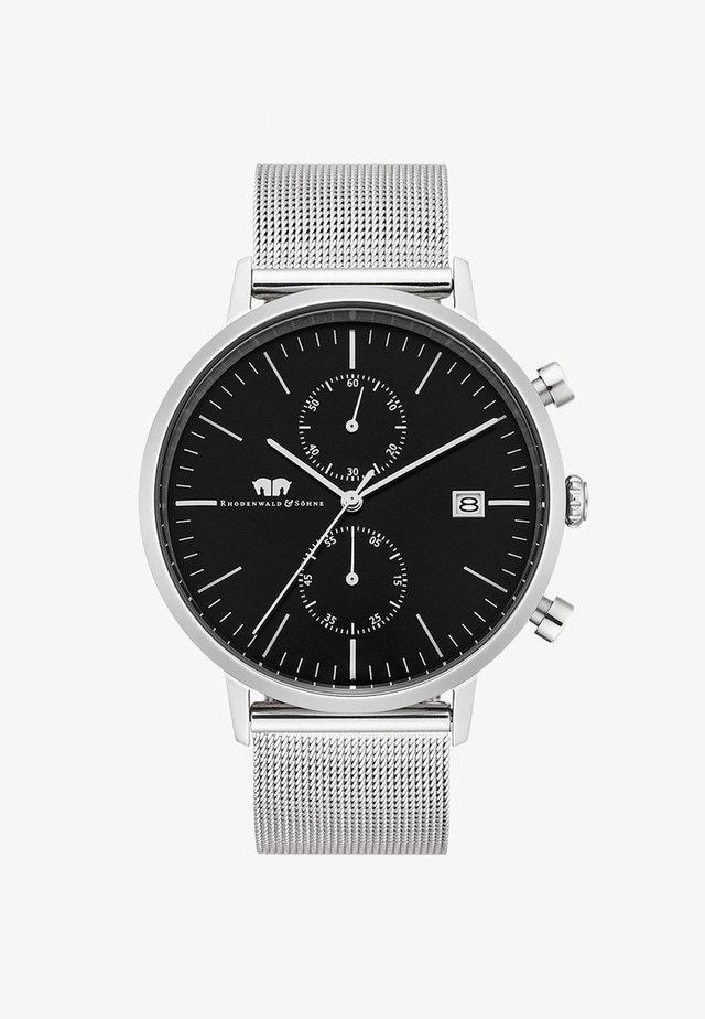 MIT SPORTLICH-ELEGANTEM DESIGN - Watch - silver-coloured