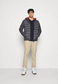 INDICODE JEANS - CREEKSIDE - Light jacket - dark grey - 1