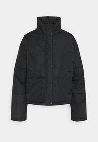 NU-IN - SHORT PUFFER JACKET - Light jacket - black - 0