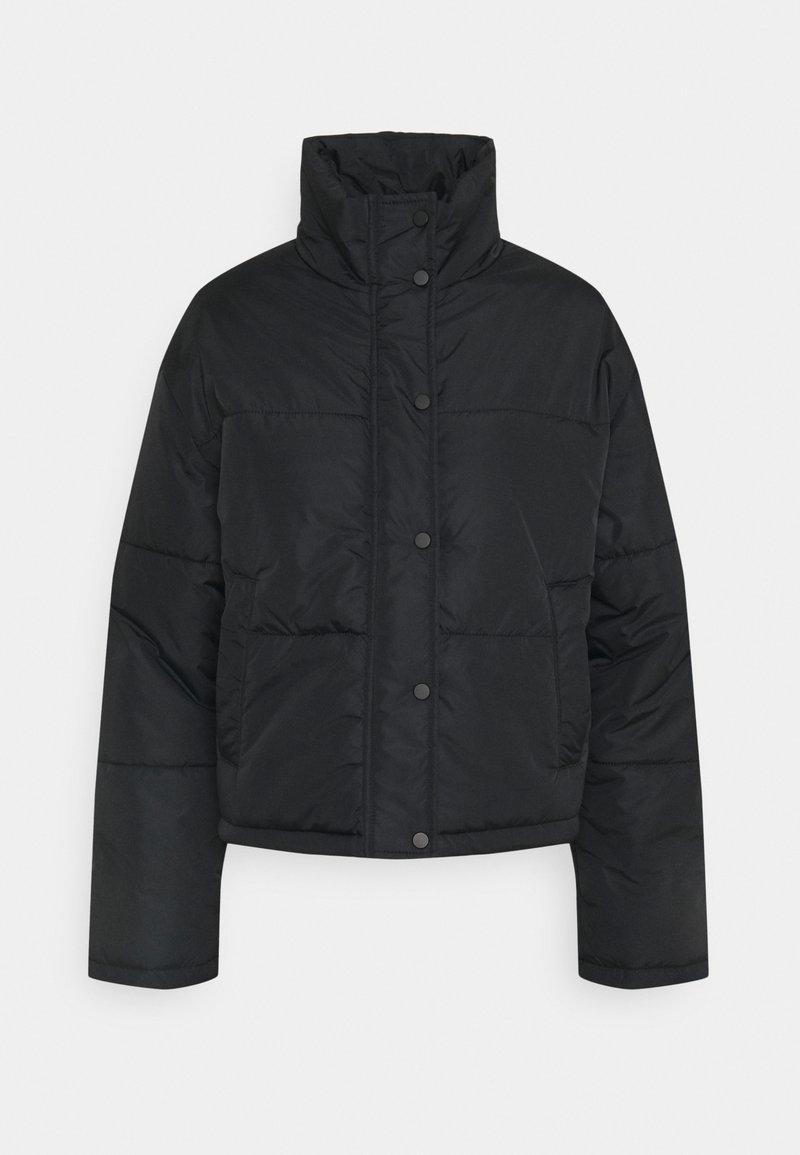 NU-IN - SHORT PUFFER JACKET - Light jacket - black