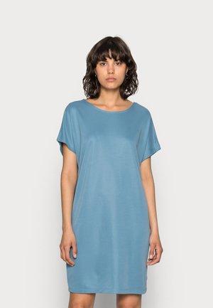 KATTIE - Jersey dress - stellar blue