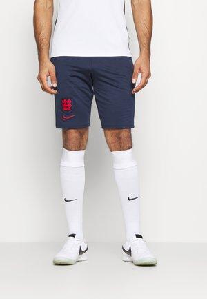 ENGLAND SHORT - National team wear - midnight navy/challenge red