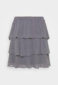MICHAEL Michael Kors - MINI FLORAL - Mini skirt - blue - 3