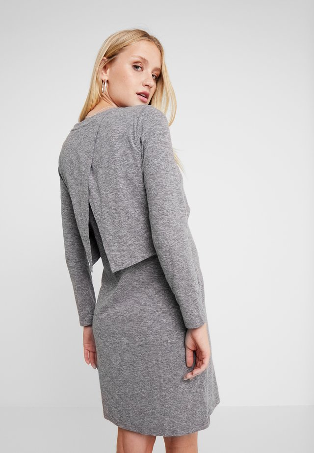 COLINE DRESS - Trikoomekko - grey