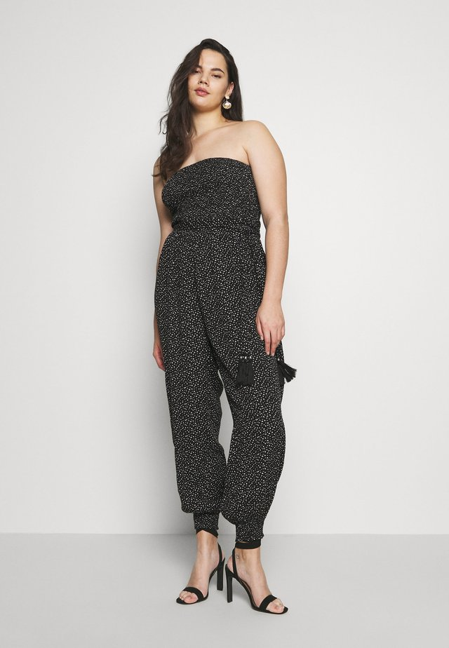 CONFETTI - Overall / Jumpsuit /Buksedragter - black