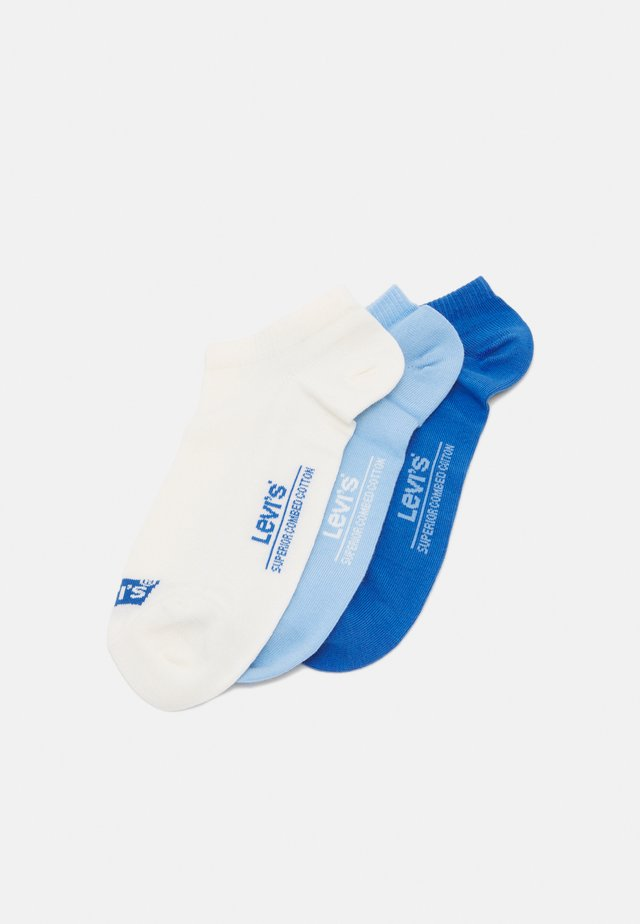 LOW CUT BATWING LOGO 3 PACK - Socks - blue combo