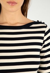Armor lux - ERQUY MARINIÈRE - Long sleeved top - rich navy/nature - 2