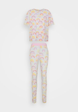 NIGHT SOU JOSIE - Pyjamas - light grey melange
