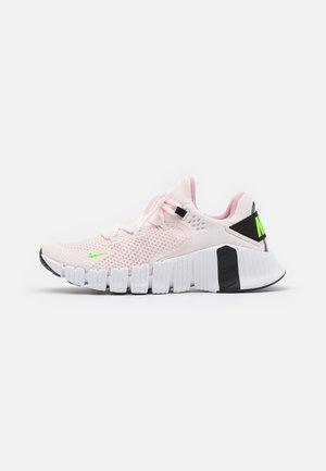 FREE METCON 4 - Trainings-/Fitnessschuh - light soft pink/white/black/green strike