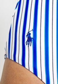 Polo Ralph Lauren - TIE SPLICE MIO - Swimsuit - cobalt - 4