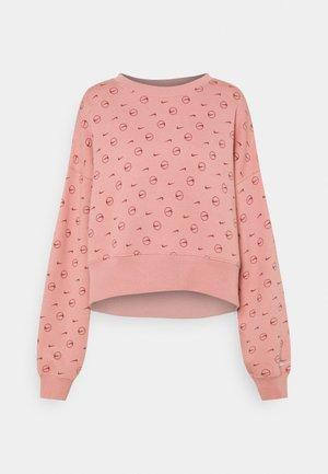 CREW - Sweatshirt - rust pink/canyon rust