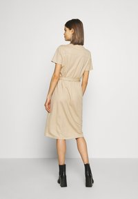 Vila - Košilové šaty - beige - 2