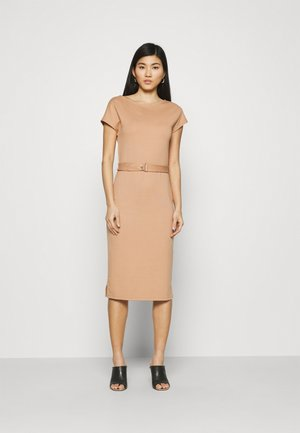 Shift dress - camel