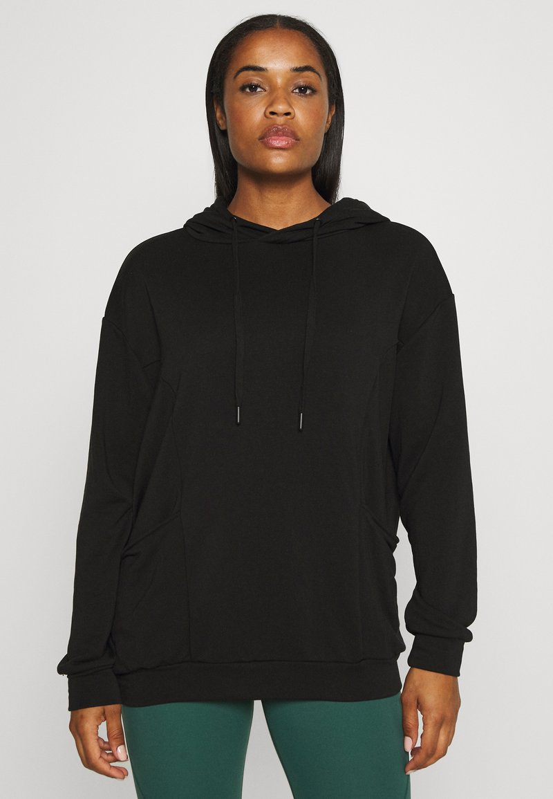 Even&Odd active - Jersey con capucha - black