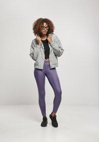 Urban Classics - Leggings - Trousers - darkduskviolet - 1