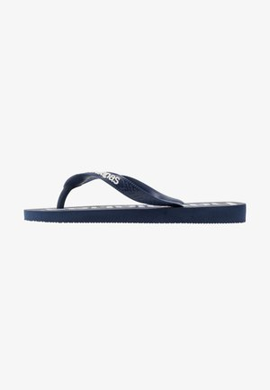TOP LOGOMANIA  - Teenslippers - navy  blue  white